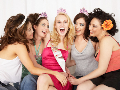 Hens night party limo